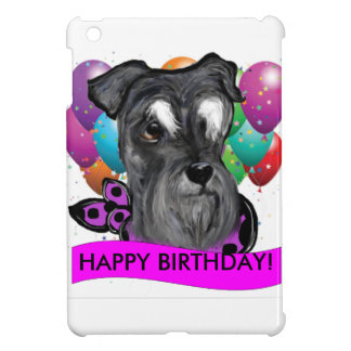 BIRTHDAY SCHNAUZER COVER FOR THE iPad MINI
