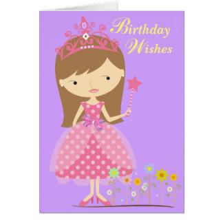 Princess birthday wishes greeting cards zazzle birthday wishes fit for a princess card card m4hsunfo