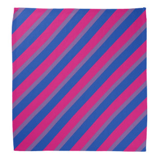 Bisexual flag bandana