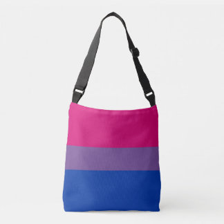 Bisexual Flag Crossbody Bag