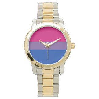 Bisexual flag watch