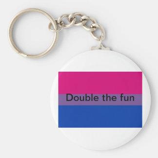 Bisexual keychain