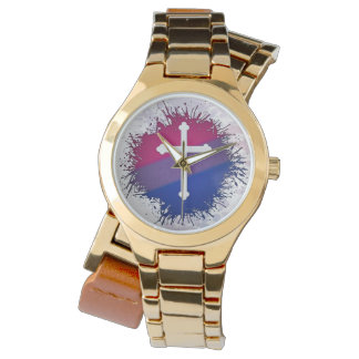 Bisexual Pride Cross Watch