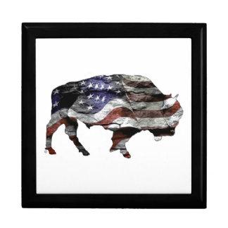 Bison Flag Gift Box