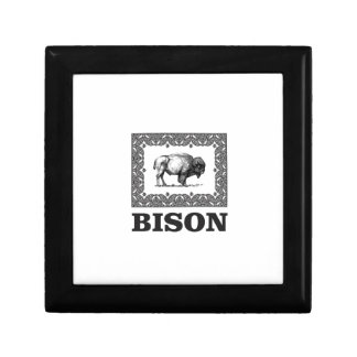 Bison in a Frame Gift Box
