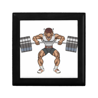 bison weight lifter gift box
