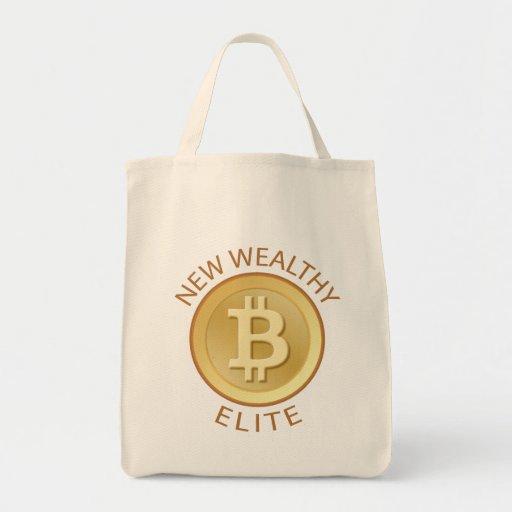 Bitcoin - New Wealthy Elite Tote Bag