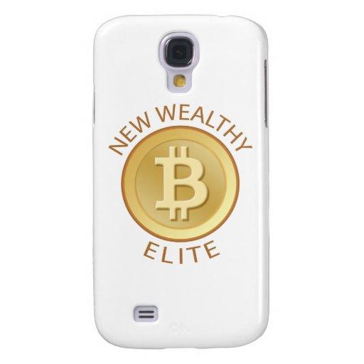 Bitcoin - New Wealthy Elite Samsung Galaxy S4 Cases
