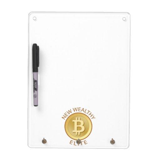 Bitcoin - New Wealthy Elite Dry-Erase Board