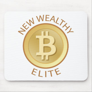 Bitcoin - New Wealthy Elite Mouse Pad