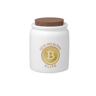 Bitcoin - New Wealthy Elite Candy Jars