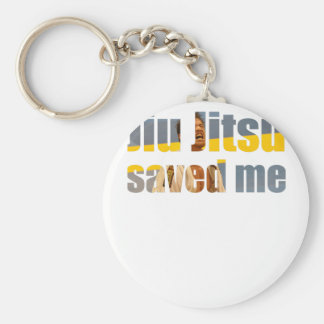 BJJ Saved Me Key Ring