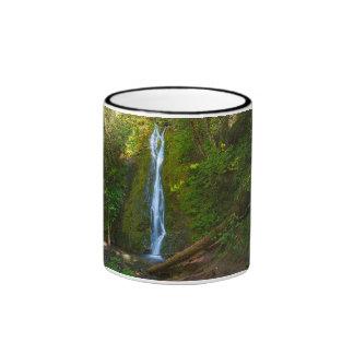 Black 11 oz Ringer Mug Waterfall