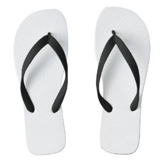 Black Adult Flip Flops, Wide Straps Jandals