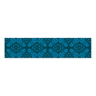 Black And Blue Colorful Napkin Band