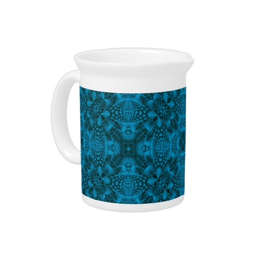 Black And Blue Colourful  Porcelain Pitchers