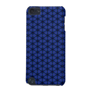 Black and Blue Hexagon iPod Touch 5G Case