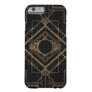 Black and Gold Art Deco iPhone 6 Case