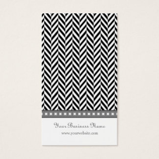Black and Gray Herringbone Earring Cards