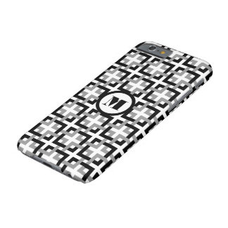 Black and Gray Squares iPhone 6 Case