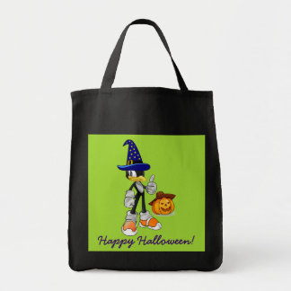 Black And Green Halloween Treat Bags Penguin