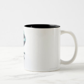 black and green poison dart frog (dendrobates Two-Tone coffee mug