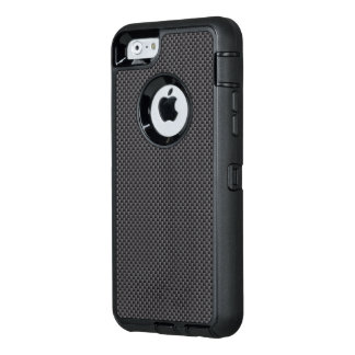 Black and Grey Carbon Fibre Polymer OtterBox Defender iPhone Case