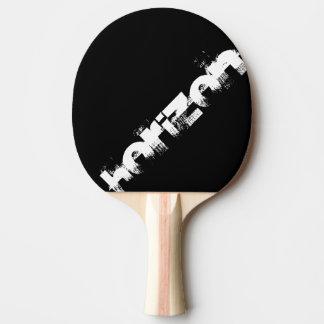 black and orange racket to personalize horizon