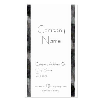 Black and White Abstract Pack Of Standard Business Cards