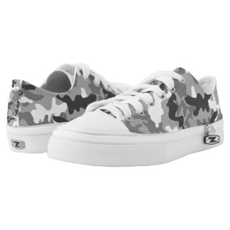 Black And White Camo Trainers Unisex  Up To Large