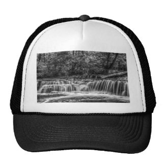 Black and White Falls Trucker Hat