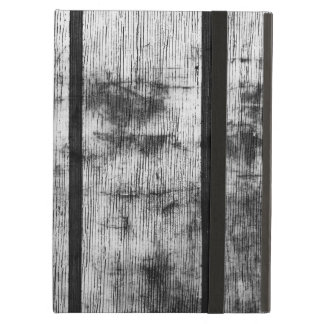 BLACK AND WHITE FENCE COVER FOR iPad AIR