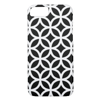 Black and White Geometric iPhone 7 Case