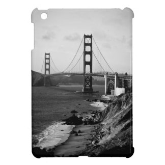 Black and White Golden Gate Bridge Photo iPad Mini Cover