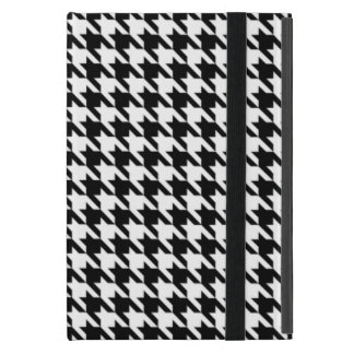 Black and White Houndstooth iPad Mini Cover