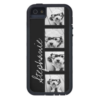 Black and White Instagram Photo Collage Case For The iPhone 5