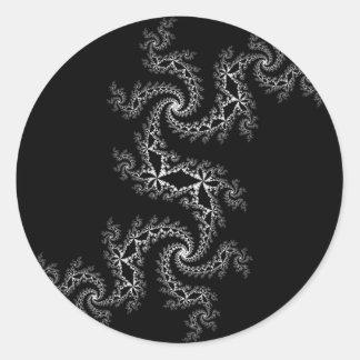 Black and White Julia 300488 Stickers