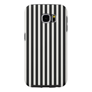 Black and White Lace Cap Cabana Stripe Pattern Samsung Galaxy S6 Cases