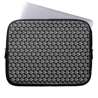 Black and White Laptop Case