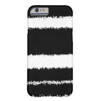 black and white lines barely there iPhone 6 case