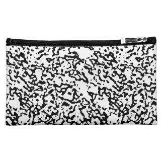 """Black And White"" Marble Design Clutch/Mini Bag Makeup Bag"