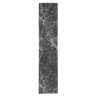 Black and White Modern Faux Marble Pattern
