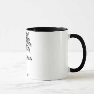 Black and White Orlando & Palm design Mug
