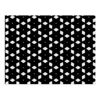 Black and White Patterns | Change Of Address Postcard