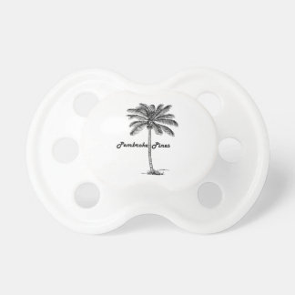 Black and White Pembroke Pines & Palm design Dummy