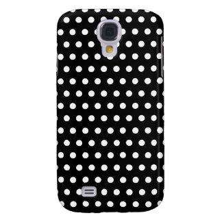 Black and White Polka Dot Pattern. Spotty. Galaxy S4 Case