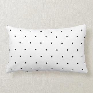 Black And White Polka Dot Throw Cushions