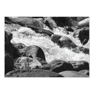 Black and White Rapids Card