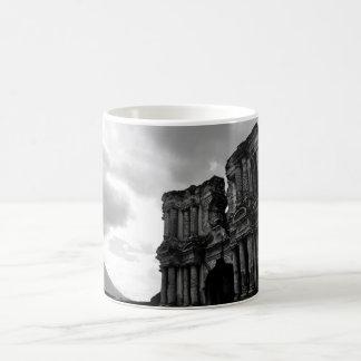 Black and white Ruins of Antigua Guatemala Coffee Mug