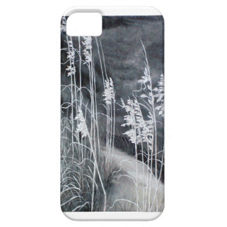 Black and white sea oats painting iPhone 5 cover